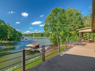 Photo for Modern Home On Lake Norman, Kayaks/Pool Table (Jet Ski/Boat Rentals Available)