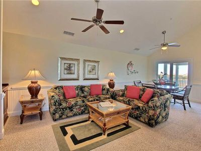 Photo for SemiSoundfront Condo in Hatteras, Comm Pool, dock, grill