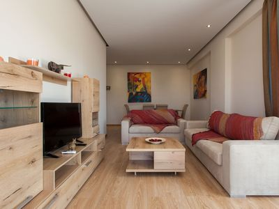 Photo for Modern art apt in Glyfada with sea view