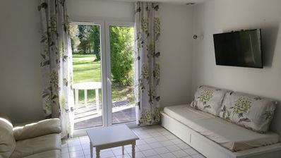 Photo for Quiet cottage 500 meters from Golf Saint Laurent (18 holes)