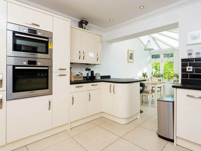 Photo for This delightful & charming 3 bedroom home is minutes from Clapham Common (veeve)