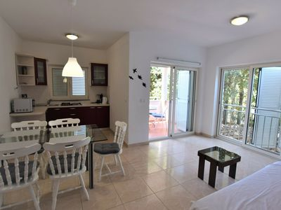 Photo for Spacious Apartment in Mandre with Terrace