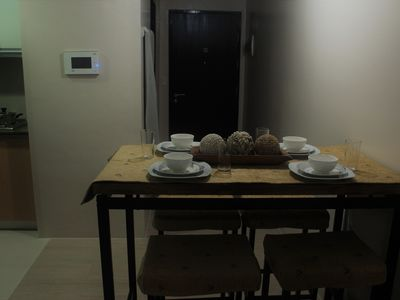Photo for Super Spacious Studio Unit with balcony 3 min away from NAIA T3