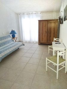Photo for Nice studio with sea view and balcony