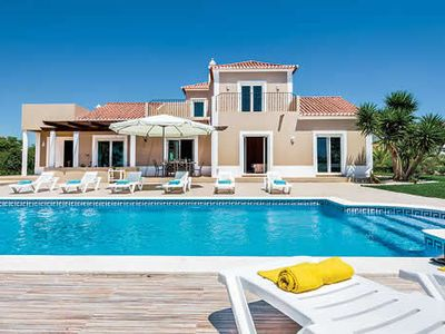 Photo for Large 4 bedroom villa w/ pool, A/C, Wi-Fi, BBQ + Table tennis