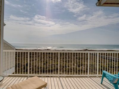 Photo for Wrightsville Dunes 3B-C Oceanfront condo with community pool, tennis, beach