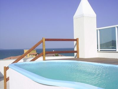 Photo for Penthouse with pool On Mariscal Beach