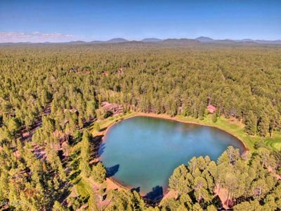 Photo for BRAND NEW! Cutest Cabin in Pinetop! Just a 30 Second Walk to Jackson Lake!