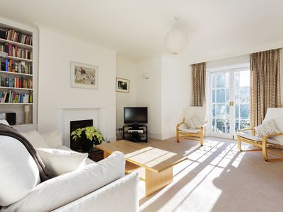 Photo for 4 bedroom house in leafy Hampstead, with parking, 20 min  Oxford street (Veeve)