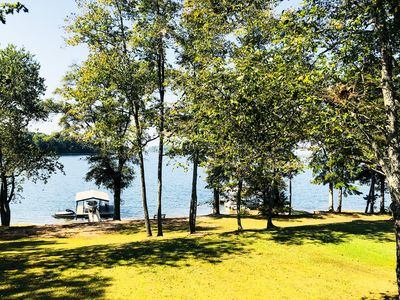 Photo for Lake Hartwell House - Sunsets & Deep Water Dock - Close to Clemson & Anderson