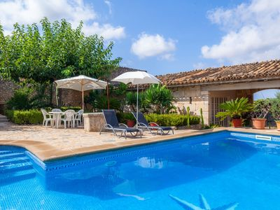Photo for With panoramic views and private pool - Villa S'Alqueria Vell