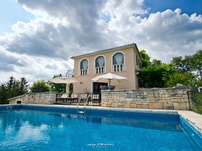 Photo for The Istrian villa with private pool near Vizinada