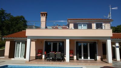 Photo for Modern Villas with pool and great sea views, top-equipped.