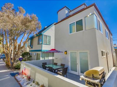 Photo for ☀️ PROFESSIONALLY 🌅 Remodeled Private Beach Home w/ 3rd Flr Deck, Ground Floor Patio!
