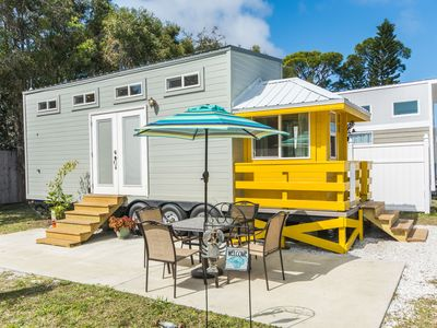 Photo for Yellow Lifeguard Stand - Tiny House with Free WiFi
