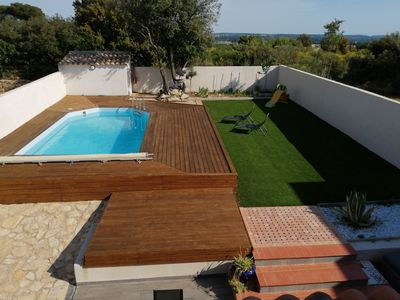 Photo for House villas with swimming pool on Nîmes