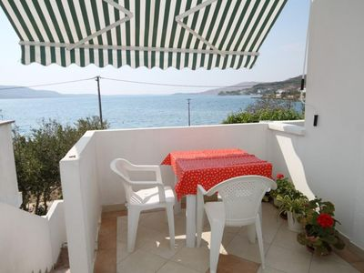 Photo for Two bedroom apartment near beach Metajna, Pag (A-6466-g)