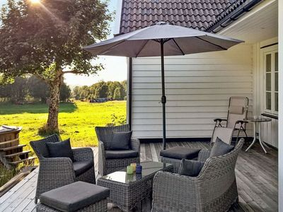 Photo for Vacation home Flokenes in Askvoll - 8 persons, 4 bedrooms
