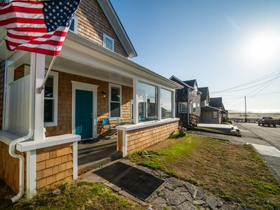 Photo for Enjoy the Sand in this Beautifully Remodeled Seaside Home with Ocean Views!
