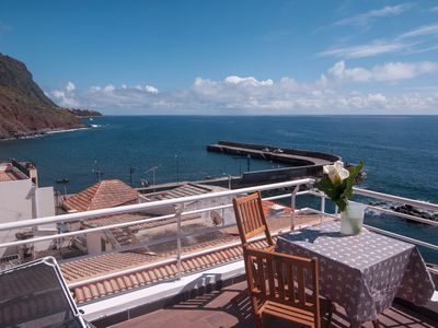 Photo for Casa do Porto, A charming seaside home right at the sea.