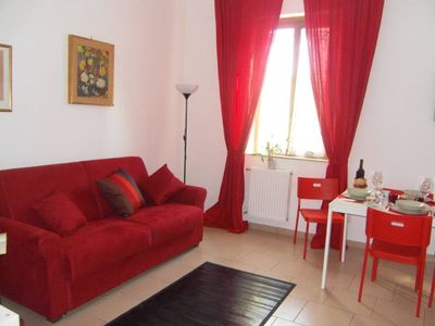 "Photo for Rome: Confortable flat well connected , central ideal for 2 /5 persons . Hause Miro is situated near the subway  Line A . "" FURIO CAMILLO "" stop .In the distritct San Giovanni"