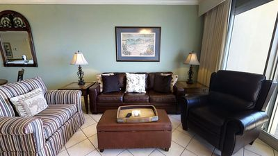 Photo for Rare One Bedroom with Gulf Front Master Bedroom!  Don't Miss these Views! Doral 1605