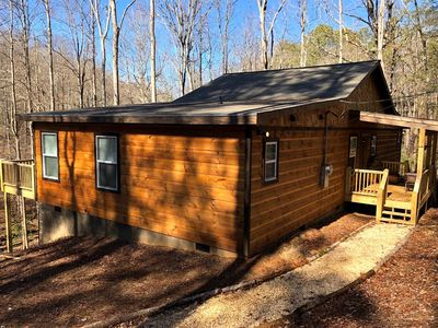 Photo for Hot Tub.  Pet Friendly.  WiFi.  Fireplace.  Fire pit.  20% OFF with 1 Wk Stay through May 26, 2019