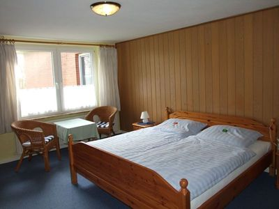 """Photo for Double Room No. 3/4 -. Pension """"Bed & Breakfast behind the North Sea dyke"""""""