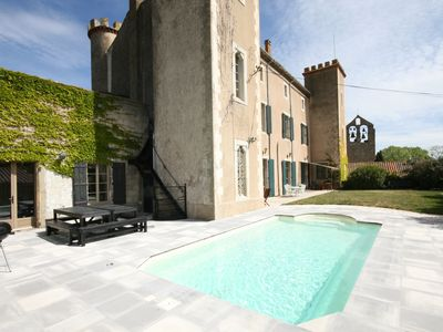 Photo for 12th Century Castle  with Heated Pool -  6,300 sq. ft
