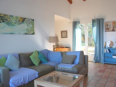 Photo for Acacia house: 5 bedrooms villa near the beach at 10 minutes from Porticcio