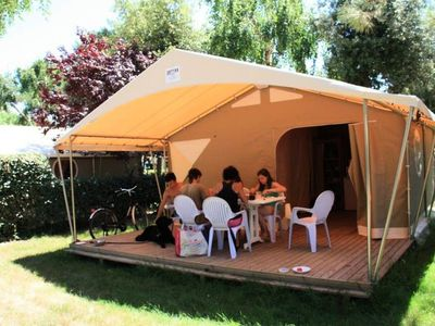 Photo for Camping Both of Orouet *** - Canvas Bungalow Canada 3 Rooms 4/5 People No Sanitary