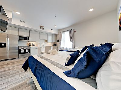 Interior  - Sleep soundly on 2 queen-size beds.