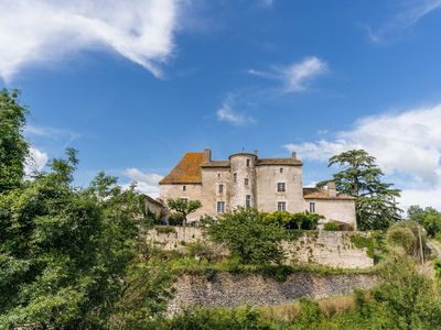 Photo for Impressive castle surrounded by a beautifully landscaped garden with privat pool