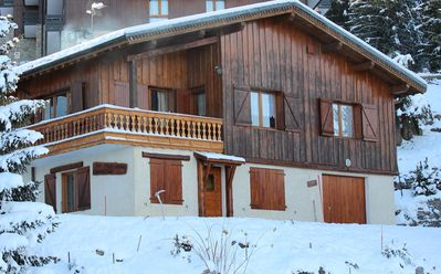 Photo for Renting an apartment in a chalet - Courchevel Resort Village -