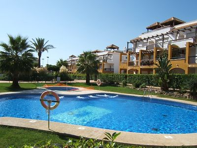 Photo for Gated Apartment complex in Vera Playa