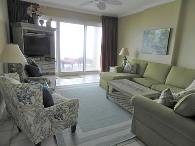 Photo for Beautiful Beachfront 3BR Corner Unit!