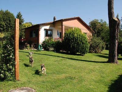 Photo for nemi cottage 6 beds in the countryside of the Castelli Romani Park