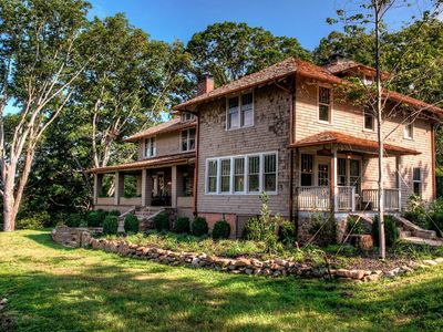 Photo for Ellerson House; historic Mountain Escape w/Hot Tub & Game Rm! Asheville, Hot Springs