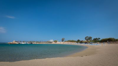 just 150 meters from the villa is Trinity Beach, it's absolutely spectacular!