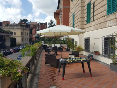 Photo for Apartment near the center of Rome with large terrace