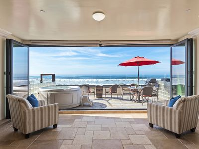 Photo for New Rental on the Ocean with 4br/4ba, private spa and patio, bbq