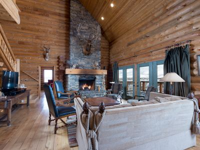 Photo for Ski Lake Cabin - Luxury Home Near Snowbasin!