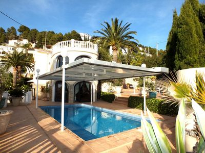Photo for Luxury villa in Benissa with private pool and beautiful sea views