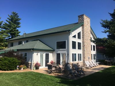 Photo for Stunning Five Bedroom Lakefront Home on Houghton Lake, Michigan