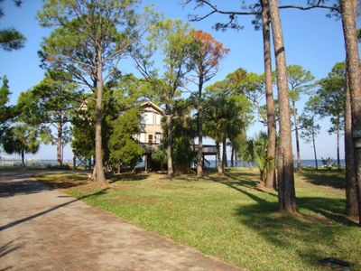 Photo for BAYFRONT home-private dock & pool w/ an amazing view. Fun for the whole family!