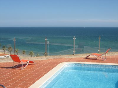Photo for Magnificent Luxury Villa,Outstanding Front Line Sea View,50m From The Beach,Pool