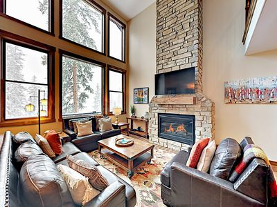 Photo for New Listing! Mountain View & Private Hot Tub! 2 Minutes to Winter Park Resort