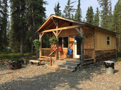 Photo for A Small Rustic Cabin near Denali National Park