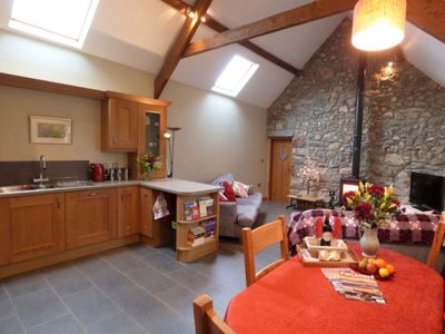 Photo for Vacation home Brandilio in Abersoch - 5 persons, 3 bedrooms