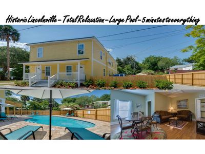 Photo for Cenrally located - large heated pool - historic downtown -  Immacutely kept